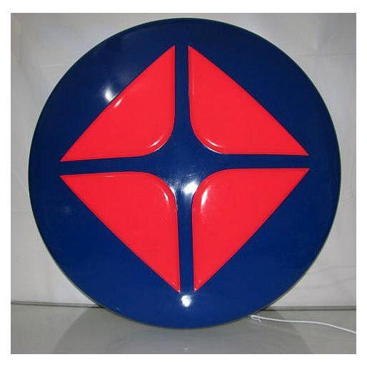 """ARCO Gas Oil Sign/ Light Atlantic Led Pop Art Led Wall Ceiling Decor Studio Shop Garage Rare Collectible 30"""" inches round..."""