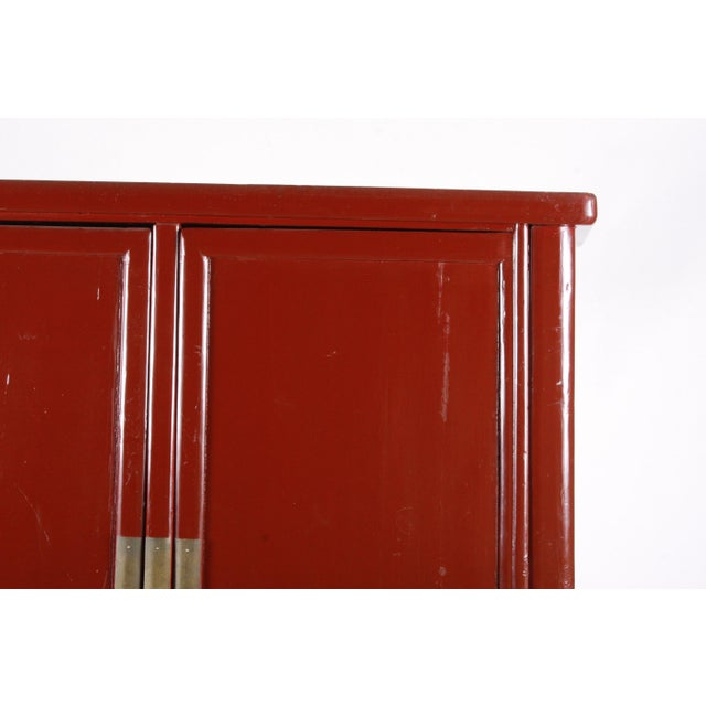 Asian Ming-Style Wedding Cabinet For Sale - Image 3 of 11