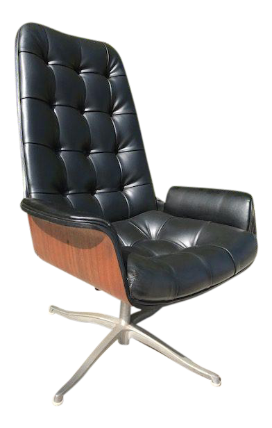 Good Executive Desk Chair By Plycraft