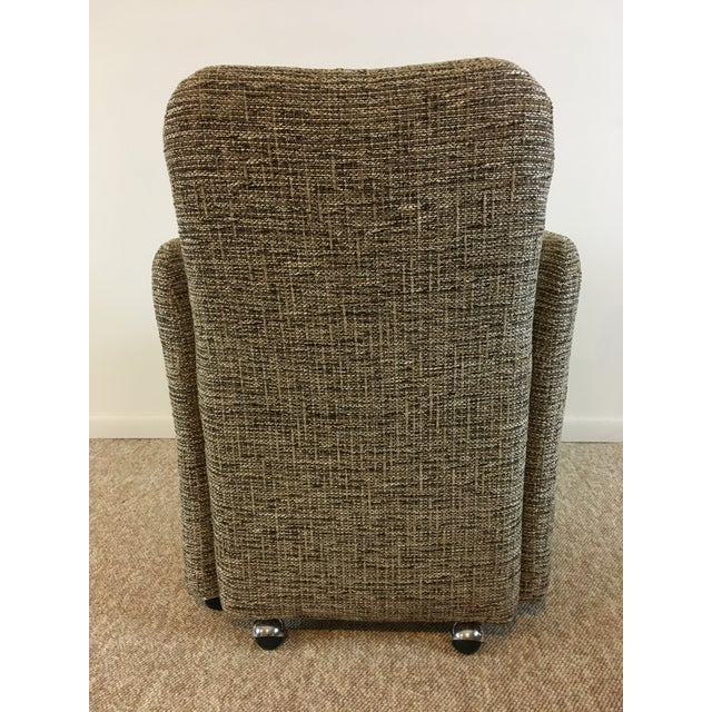 Vintage Tweed Accent Chairs - A Pair - Image 7 of 9