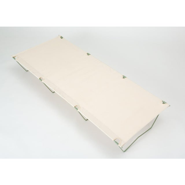 Army Cot or Camp Bed With Canvas Sling For Sale In Los Angeles - Image 6 of 11