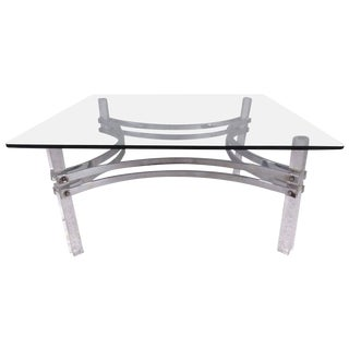 Vintage Modern Coffee Table by Charles Hollis Jones For Sale