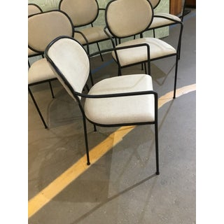 Contemporary Iron Chairs- Set of 6 Preview