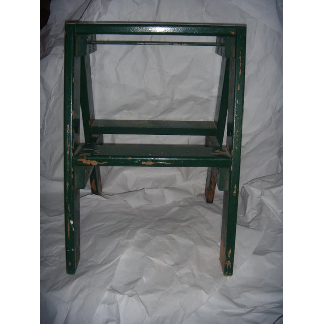 Country Old Country Step Stool For Sale - Image 3 of 6