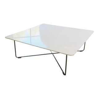 Cappellini White Lacquer Coffee Table For Sale
