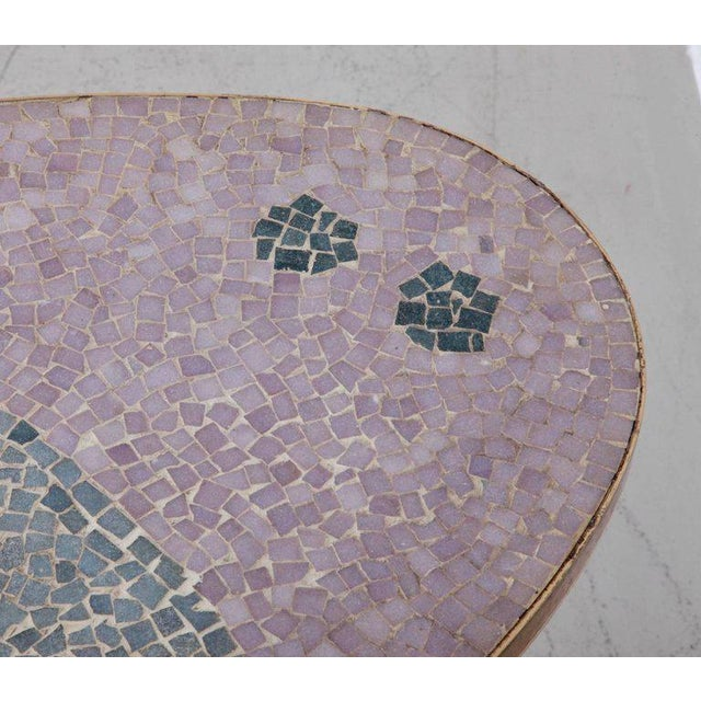 Brass Huge Berthold Muller Mosaic Coffee Table For Sale - Image 7 of 8
