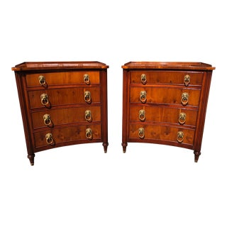 Regency Style Chest of Drawers - A Pair