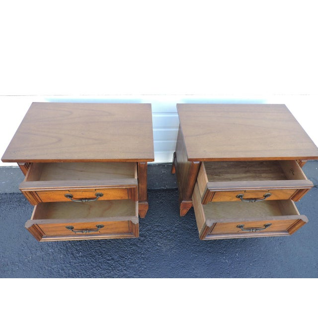 1960s Pair of Nightstands Side End Tables by Dixie For Sale - Image 5 of 11