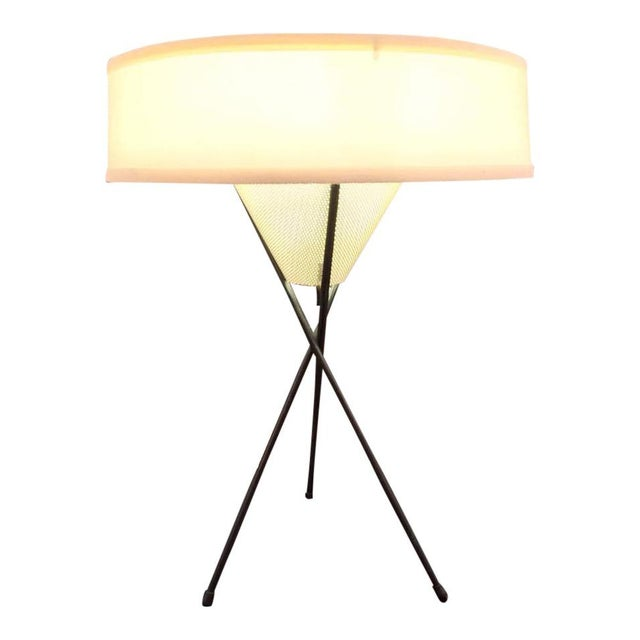 Gerald Thurston for Lightolier Tripod Lamp For Sale In Chicago - Image 6 of 6