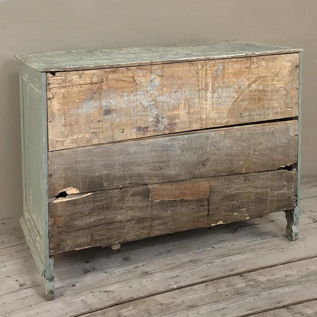 18th Century Country French Painted Commode For Sale - Image 12 of 13