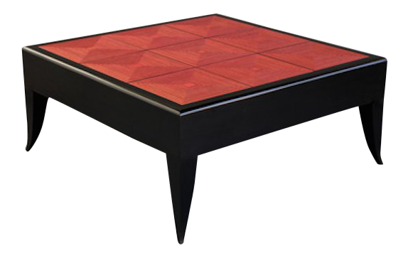 Bon Modern Red Maze Coffee/Cocktail Table