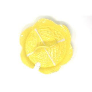 Vintage Secla Yellow Cabbage Tureen Lid Preview