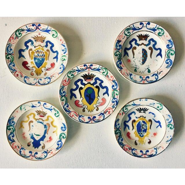 5 Vintage Florentine Trinket Dishes For Sale - Image 9 of 10