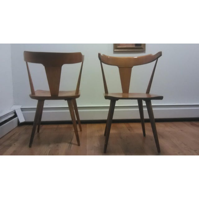 Paul McCobb Mid Century Modern Dining Chairs - a Pair - Image 5 of 9