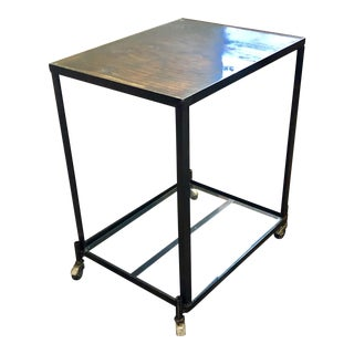1960s Industrial Bar Cart For Sale