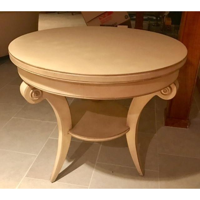 Transitional Round Accent Table - Image 2 of 6
