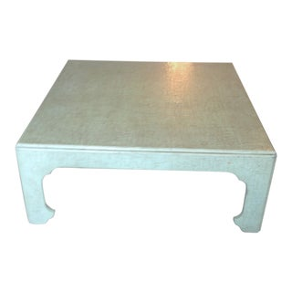 Mid-Century Chinoiserie Baker Coffee Table For Sale