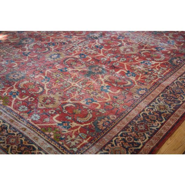 "Antique Persian Mahal Carpet - 7'1"" x 10'1"" - Image 4 of 9"