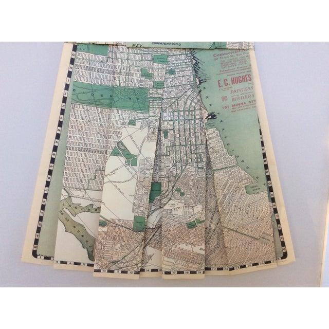 Framed 1903 San Francisco City Street Paper Art Dress - Image 5 of 5
