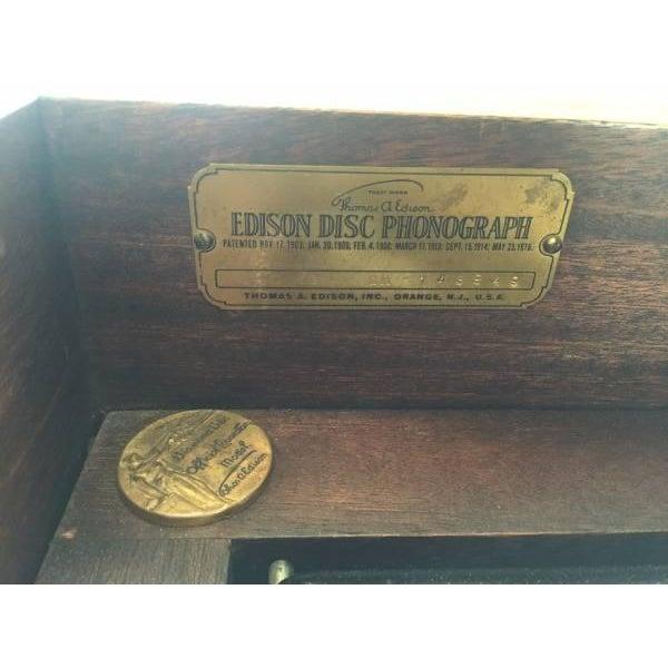 Edison Diamond Disc Phonograph - Image 4 of 5