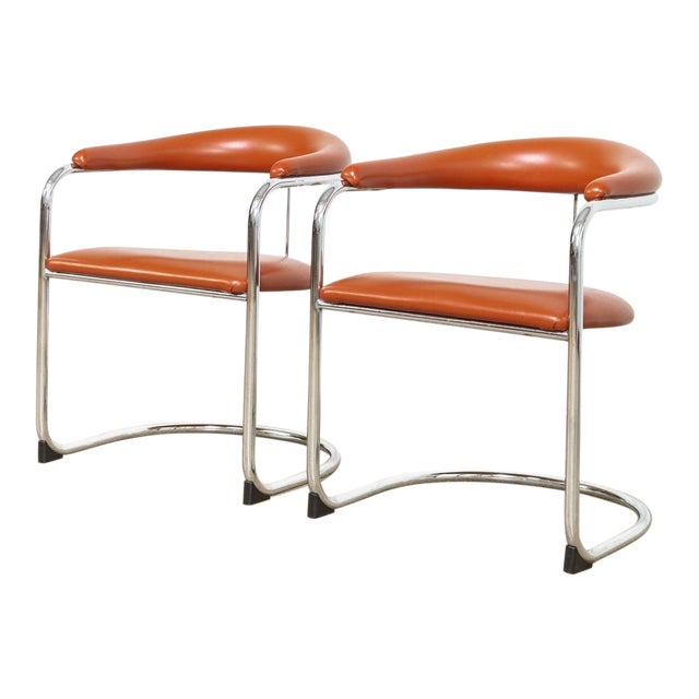 Mid Century Anton Lorenz Cantilever Chairs For Sale