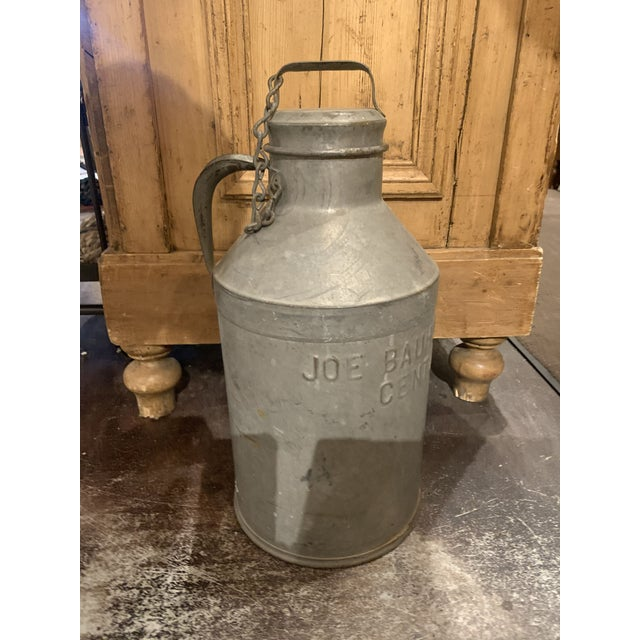 1930s Antique Joe Bauhofer & Sons Stainless Steel Milk Jug For Sale - Image 9 of 13