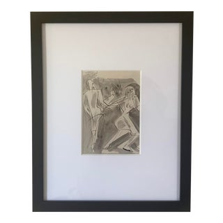 Mid-Century Drawing by John Begg For Sale