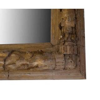 Gilt Carved Wood, Oak Leaf and Acorn Framed Mirror Preview
