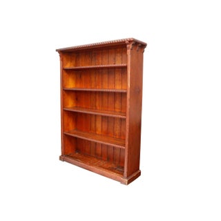 Antique Dutch Craftsman Pine Bookcase Preview