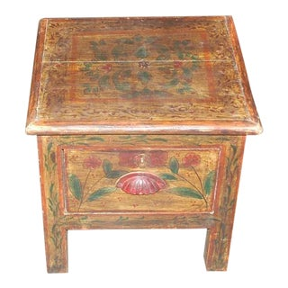 Chinese Painted Tea Table For Sale