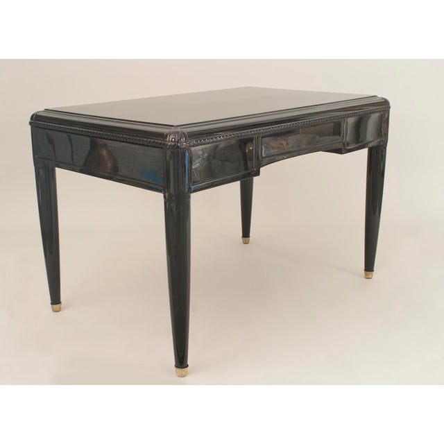 French Art Deco Ebonized Desk For Sale In New York - Image 6 of 7