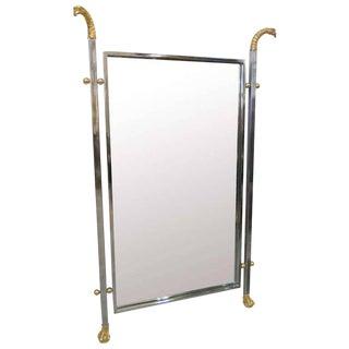 Maison Jansen Neoclassical Eagle Motif Mirror