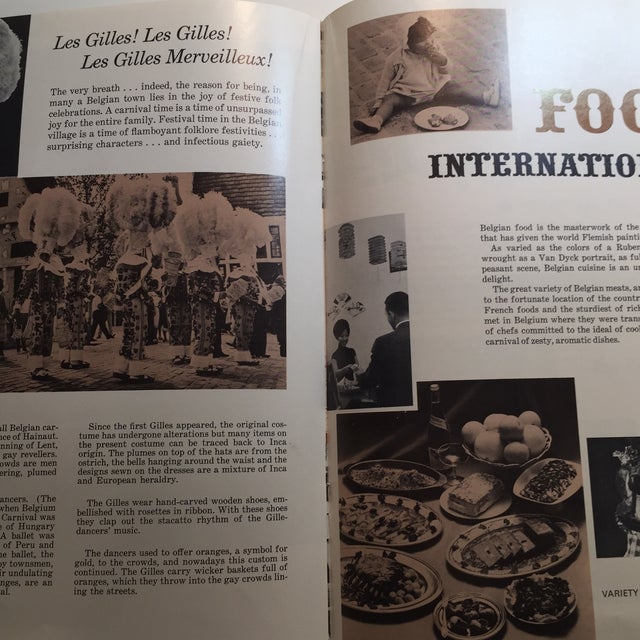 1964 World's Fair Belgian Village Book - Image 6 of 8