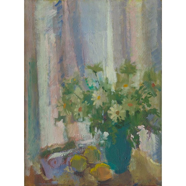 """Contemporary Amy Griffith Colley """"Daisies With Lemons"""" Print For Sale - Image 3 of 3"""