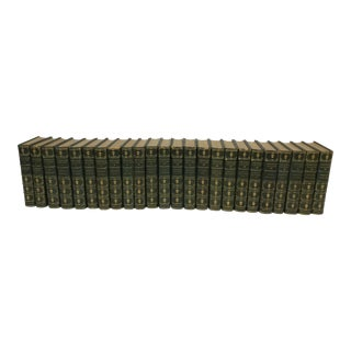 Rare & Beautiful Decorative Binding - Set 24 Volumes - Works of Theophile Gautier Ilustrated For Sale