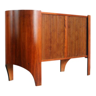 Tambour Credenza / Buffet by Henry P. Glass For Sale