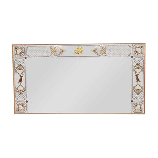 Mirror With Decorative & Figural Details For Sale
