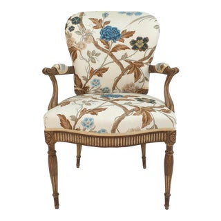 Adam Style Armchair For Sale