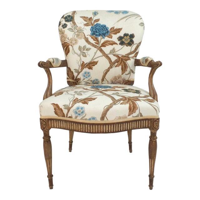 Adam Style Armchair For Sale