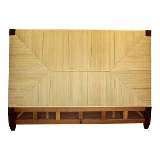 Vintage Merbau Collection King Headboard by Donghia Furniture For Sale