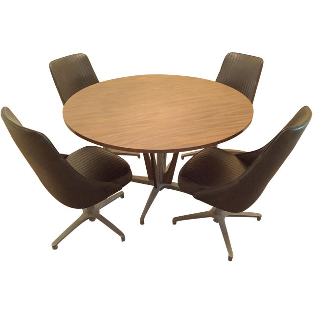 Vintage Chromcraft Mid Century Dining Set - Image 1 of 8