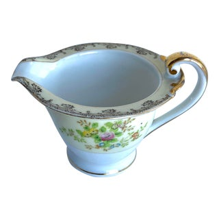 Vintage Noritake China Porcelain Milk Cream Pitcher For Sale