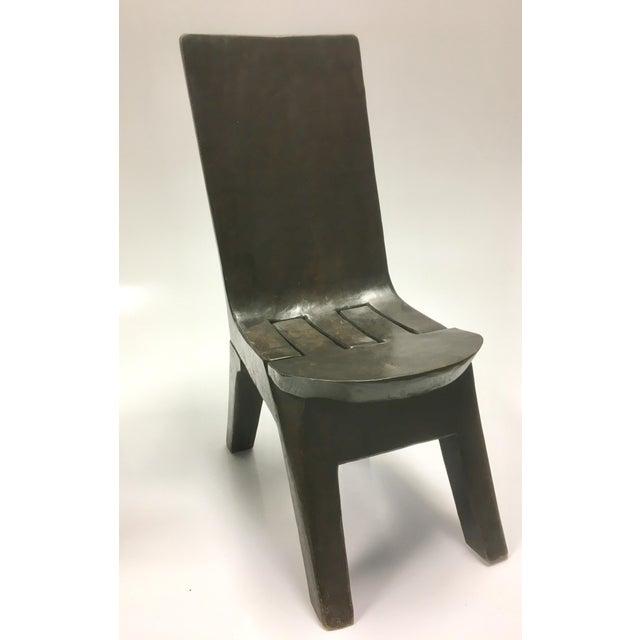 decorative folk solid wood folding chair chairish