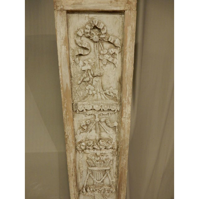 Mid 19th Century French Classical Plaster Reliefs - a Pair For Sale - Image 5 of 7