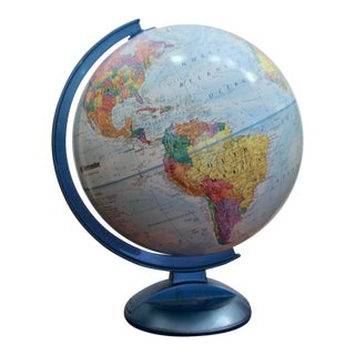 Globes For Sale >> Gently Used Replogle Globes Furniture Up To 40 Off At