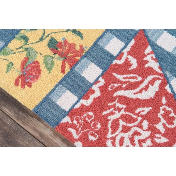 """Contemporary Madcap Cottage Summer Garden Think of England Multi Area Rug 3'6"""" X 5'6"""" For Sale - Image 3 of 8"""