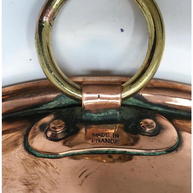 Large Copper Mixing Bowl For Sale - Image 10 of 11
