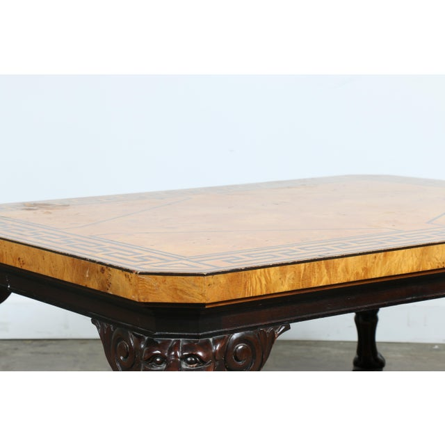 Baker Burlwood Coffee Table - Image 5 of 11