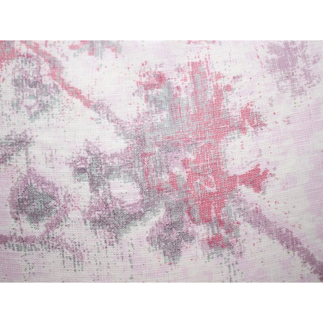 TylerGraphic Hand Blocked Square Down/Feather Pillow For Sale In Atlanta - Image 6 of 10