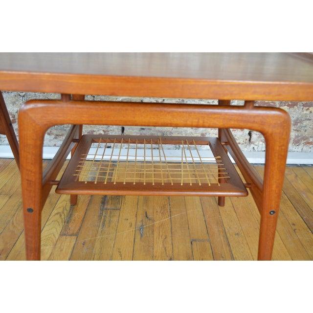 Teak Arne Hovmand Olsen for Mogens Kold Danish Teak End Tables For Sale - Image 7 of 10